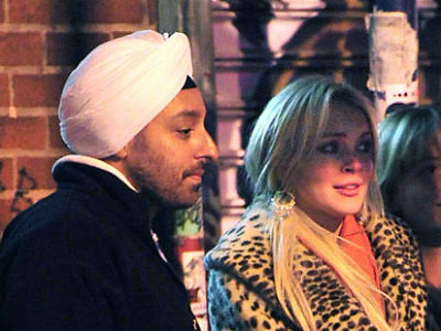 Vikram Chatwal, Lindsay Lohan