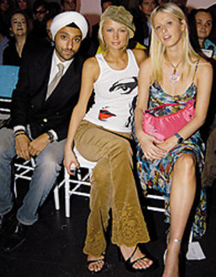 Vikram Chatwal, Paris Hilton, Nicky Hilton