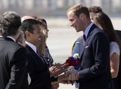 Antonio Villaraigosa, Prince William
