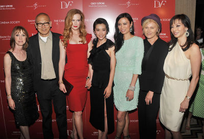 Author Lisa See, director Wayne Wang, Nicole Kidman, actress Li Bingbing, producer Wendi Deng Murdoch, actress Deborra-Lee Furness, and producer Florence Sloan