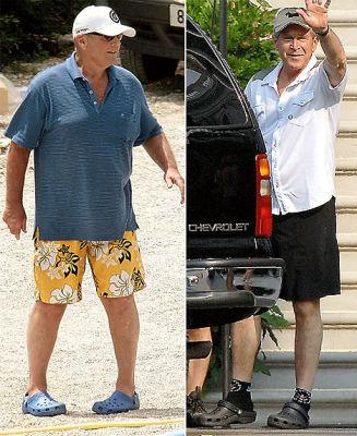 Jack Nicholson, George W Bush