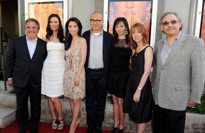 Jim Gianopulos, Li Bingbing, Florence Sloan, Wendi Murdoch, Wayne Wang, Steve Gilula, Lisa See