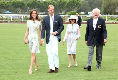 Kate Middleton, Prince William, Gloria Holden, Glen Holden