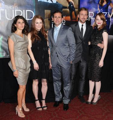 Marisa Tomei, Julianne Moore, Steve Carell, Ryan Gosling, Emma Stone