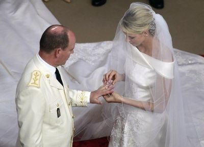 Prince Albert, Princess Charlene of Monaco
