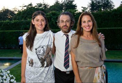 Arden Wohl, Tom Sachs, Diane Wohl