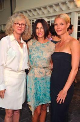 Blythe Danner, Jessica Seinfeld, Gwyneth Paltrow