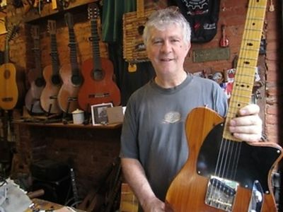 Own A Real Piece Of Rock History: Guitar Maker Keeping Spirit Of Old Chelsea Hotel Alive
