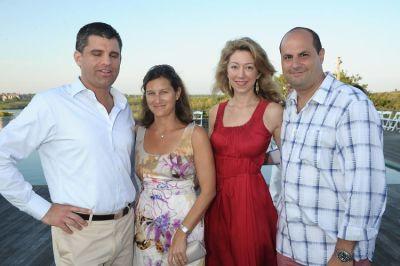 John Sabat, Shireen Sabat, Stephanie Vartughian, Ed Vartughian