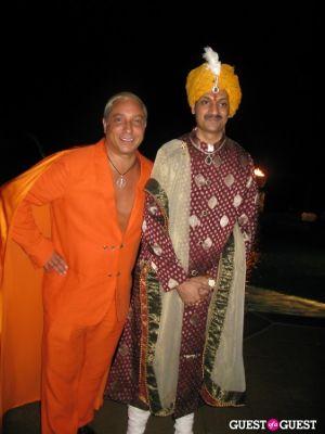 Sir Ivan Wilzig, Crown Prince Manvendra Singh Gohil