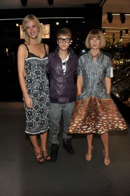 Brooklyn Decker, Justin Bieber, Anna Wintour