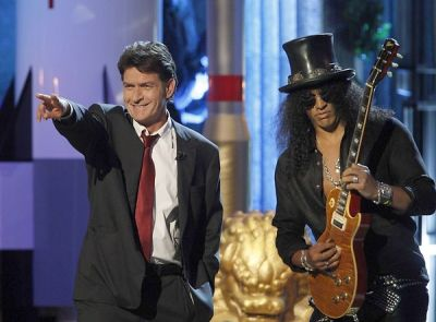 Charlie Sheen, Slash