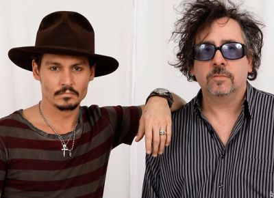 Johnny Depp, Tim Burton