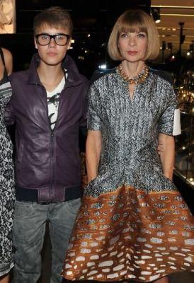Justin Bieber, Anna Wintour