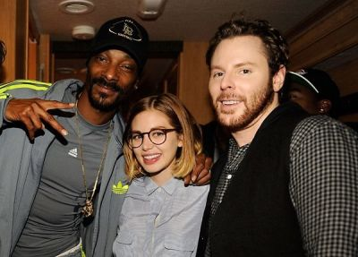 Snoop Dogg, Alexandra Lenas, Sean Parker