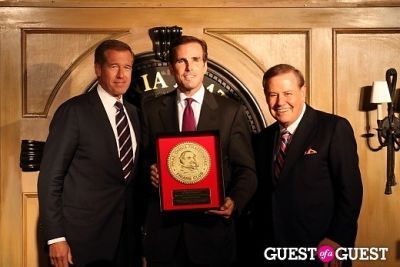 Brian Williams, Bob Woodruff,Bill Ritter