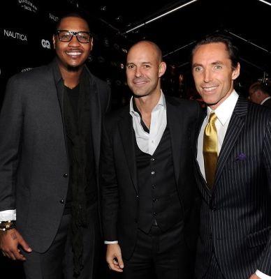 Carmelo Anthony, Chris Mitchell, Steve Nash