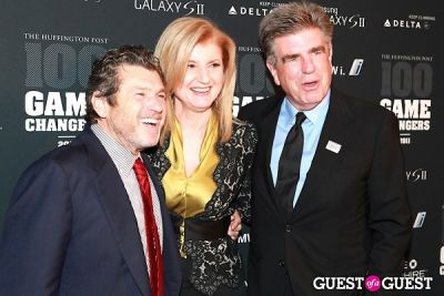 Jann Wenner, Arianna Huffington, Tom Freston