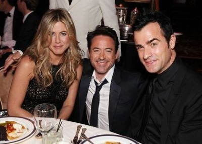 Jennifer Aniston, Robert Downey Jr., Justin Theroux