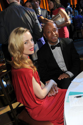 Melissa George and Russell Simmons