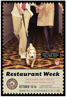 Shirlington's First Restaurant Week Begins Tonight, Shirlie's Girl's Night Out This Thursday!