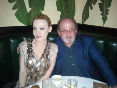 Couple Alert: Devorah Rose And Salman Rushdie?