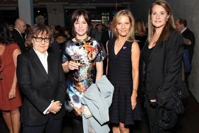 Ingrid Sischy, Parker Posey, Sandy Brant, Lorraine Bracco