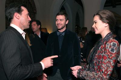 Jon Hamm, Justin Timberlake, Hailee Steinfeld