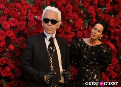 Karl Lagerfeld, Lady Amanda Harlech