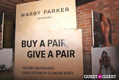 Warby Parker Holiday Spectacle Bazaar Launch Party