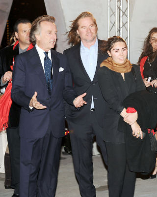 Luca di Montezemolo, Val Kilmer, Mercedes Kilmer