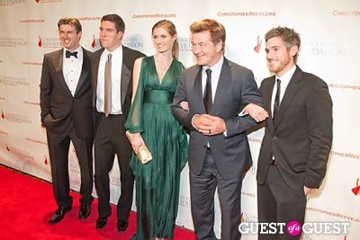 Matthew Reeve, Will Reeve, Alexandra Reeve, Alec Baldwin, Dave Annable
