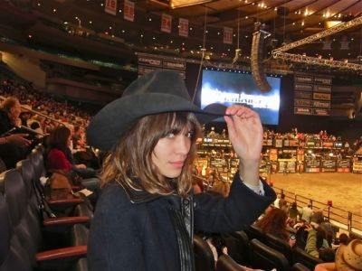 Derek Blasberg And Alexa Chung Find All Things Fashion At The Rodeo At Madison Square Garden