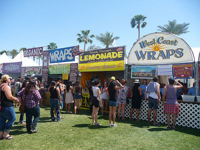 Coachella Food Stands