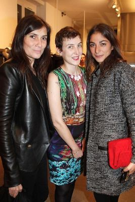 Mary Katrantzou And Longchamp's Sophie Delafontaine Celebrate Collaboration Launch With Colette In Paris
