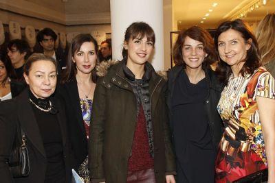 Paule Ouahnoun, Isabelle Guyon, Elisabeth Akessoul, Caroline Defayet, Sophie Delafontaine
