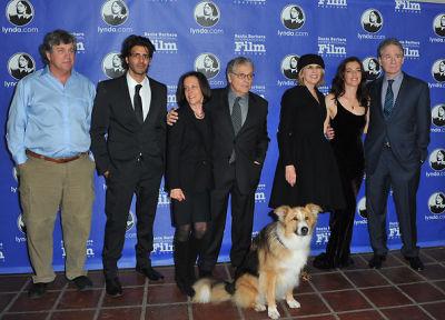 Tom Bernard, Jay Ali, Meg Kasdan, Lawrence Kasdan, Kasey the dog, Diane Keaton, Ayelet Zurer, Kevin Kline