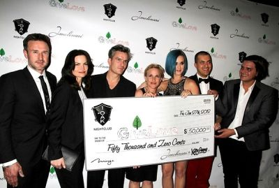 David Arquette, Rosetta Getty, Balthazar Getty, Patricia Arquette, Katy Perry, Jason Arashben, Markus Molinari