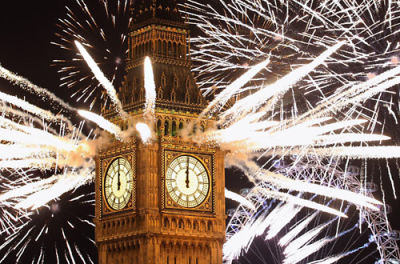 Happy New Year From London!
