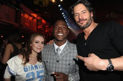 Alyssa Milano, Joe Manganiello, Antonio Brown