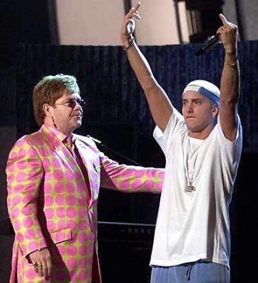 Elton John, Eminem