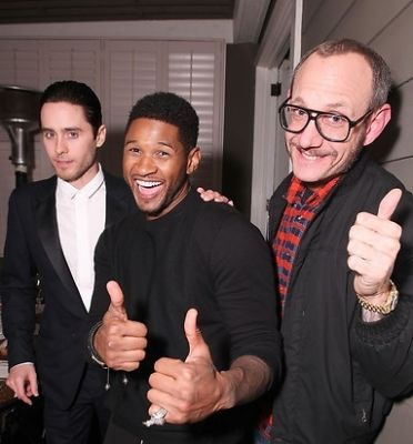 Jared Leto, Usher, Terry Richardson