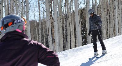 Michelle Obama ski aspen