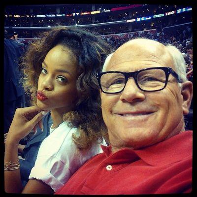 Rihanna, Steve Soboroff