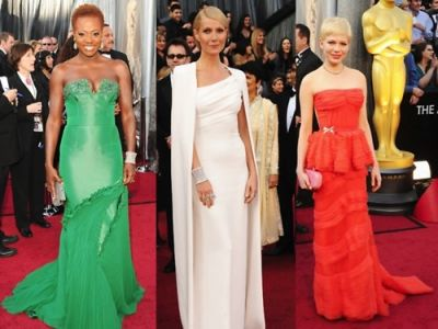 Viola Davis, Gwenyth Paltrow, Michelle Williams