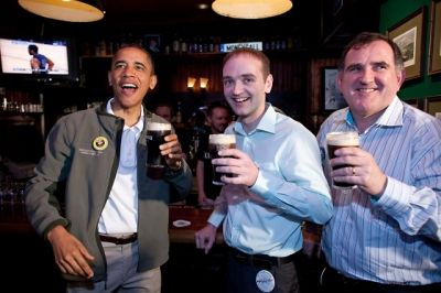 Barack Obama St Patricks Day