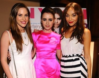 Christa B. Allen, Lily Collins, Ashley Madekwe