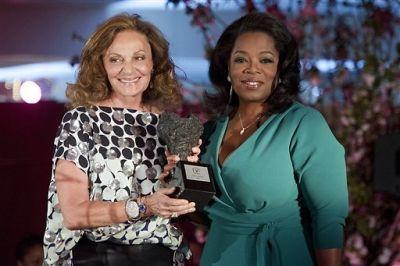 Diane von Furstenberg, Oprah Winfrey