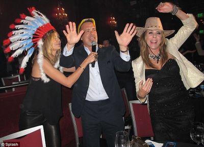 Heidi Klum, Tom Hanks, Rita Wilson