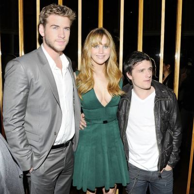 Liam Hemsworth, Jennifer Lawrence, Josh Hutcherson